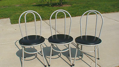 Vintage Retro Original 1960's Kofabco Co. Metal Kitchen Dining Chairs