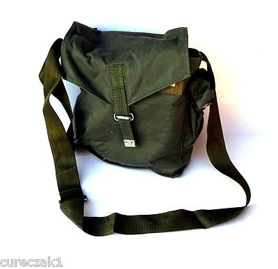Polish army/ civil  SzM41M gas mask bag / shoulder bag