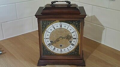 Rare Junghans Westminster Chime 8 Day bracket clock working excellent