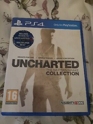 Uncharted The Nathan Drake Collection 2015 PS3 Game #673