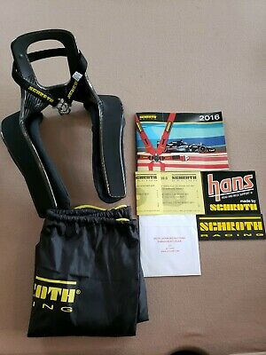 Schroth XLT FHR 20° Size Large-NEW AND NEVER BEEN USED!