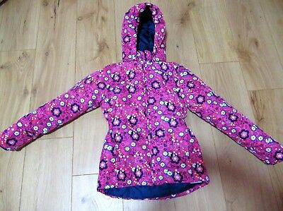 £38 girls jacket Name It pink rain next Hood Coat 9 - 10  11 years SUMMER VGC