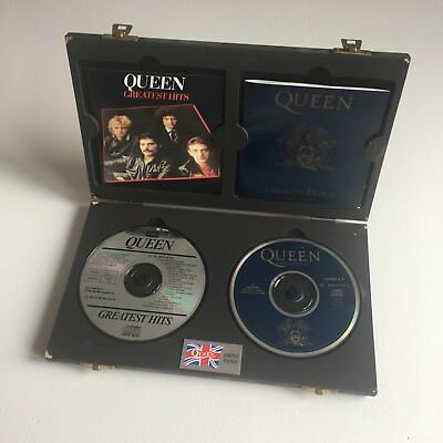 Queen - Greatest Hits Vols. I & II Limited Edition CD Box Set - U.K - Mega Rare
