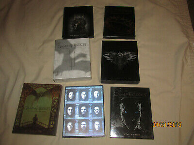Game of Thrones GOT TV Series BluRay Complete Collection Seasons 1 2 3 4 5 6 7