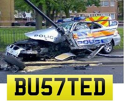 BUSTED BU57 TED Cherished Number AMG VXR RS4 STI