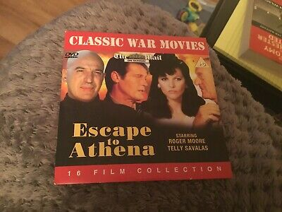 ESCAPE TO ATHENA DVD WW2 Classic Movie Telly Savalas Roger Moore 1979