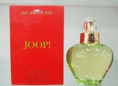 Joop All About Eve Deodorant Natural Spray pour Femme 75 ml New & Rare