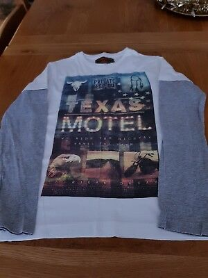 Urban Outlaw Long Sleeve Top  Age 8-9
