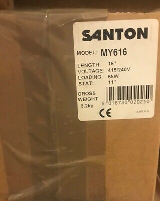 "Santon MY616 Immersion Heater 16"" length"