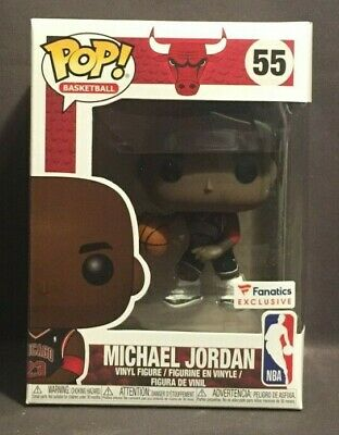 Funko Pop NBA Basketball Fanatics Exclusive Chicago Bulls Michael Jordan #55