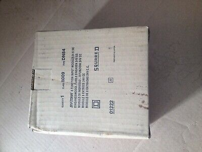 squared d class 8009 type dn84 sy/max 8 function input module 24v dc