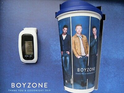 Boyzone Thank You And Goodnight 2019 Tour VIP Boxed Gift set with VIP lanyard