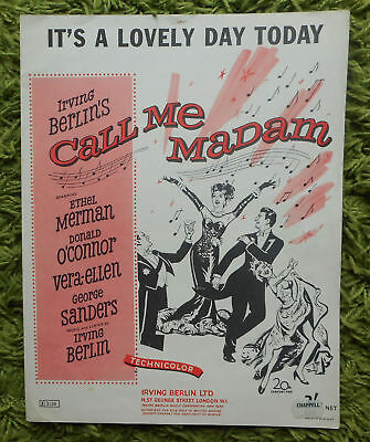 It's A Lovely Day Today (Call Me Madam Musical) - Irving Berlin:1950 P.V.Ukelele