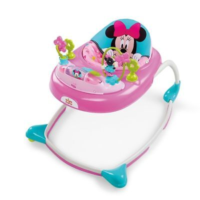 Disney 10139 Baby Minnie Mouse Peek-A-Boo Walker - Pink