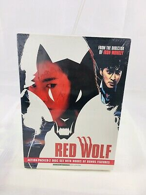 Red Wolf (DVD) 2-Disc Set! Yuen Wo Ping, Kenny Ho, Christy Chung, BRAND NEW!