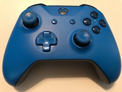 Microsoft Xbox One Blue Edition Wireless Controller *AS-IS, Needs Repair*