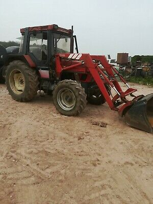 Case ih 4230 tractor with loader and attachments no vat