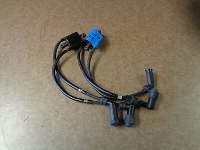 YAMAHA XJ600 SECA II #2 IGNITION COIL ASSEMBLY WITH CAPS 4BR-82320 ...