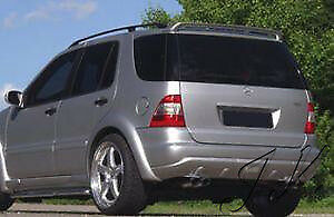 Mercedes ML W163 Roof Spoiler Wing