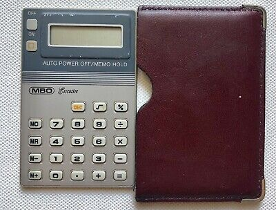 Vintage Calculator MBO Executive ( Casio ) Made in West Germany