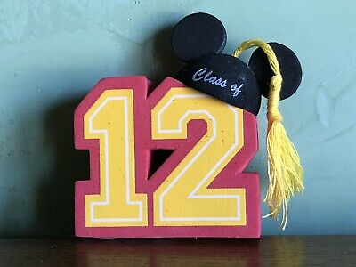 NEW Disney World Disneyland Parks Class of 12 2012 Mickey Mouse Antenna Topper