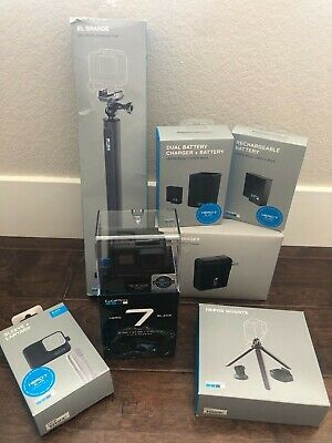 GoPro HERO7 Action Camera - Black with Accessories