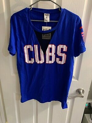 4028082c3 MLB CUBS CHICAGO Victoria's Secret PINK Cubbies Jersey Don't Hate On ...