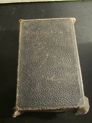 Antique 1897 Oxford Self Pronouncing Bible London Branch  Old+New Testament RARE