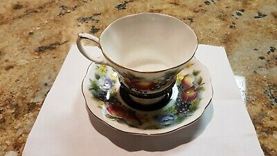 Royal Albert Country Fayre Series China Teacup and Saucer - Kent