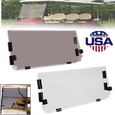 Tinted Windshield For Club Car Ds Golf Cart For Years 2000 91 95