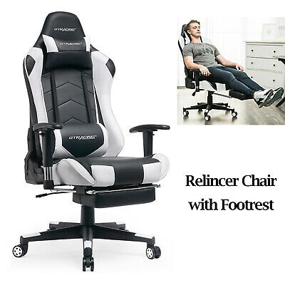Gaming Chair Racing Office Chair Ergonomic Adjustable Computer Desk Chair