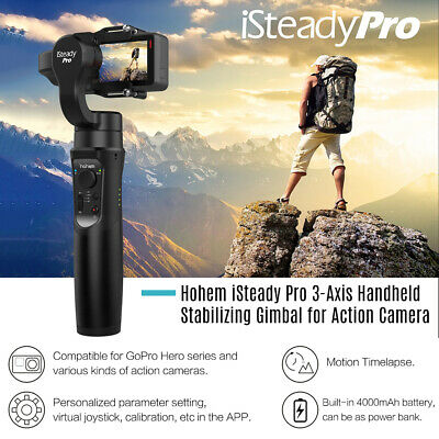 Hohem iSteady 3-Axis Handheld Gimbal Stabilizer for GoPro Hero 7/6/5 SJCAM M3F8