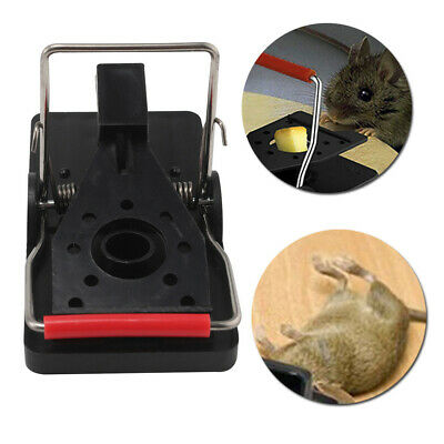 6X Useful Reusable Mouse Trap Killer Control Trap Easy Pest Rat Catching Catcher
