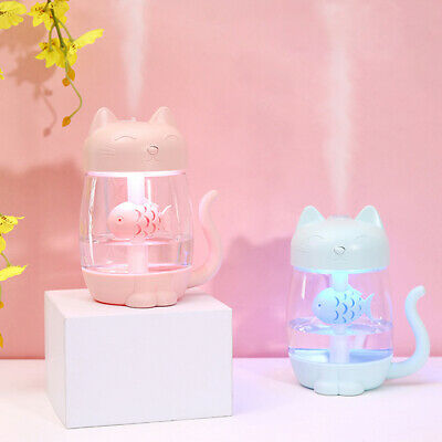 LED Ultrasonic Aroma Humidifier Air Aromatherapy Essential Oil Diffuser 4 Colors