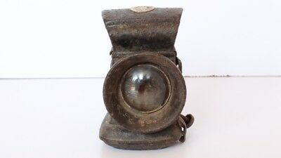 Indian Vintage Hand Crafted Brass Lamp Signal Lantern Home Decor