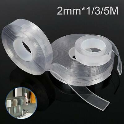 Magic Nano Tape Double-sided Gel Grip Traceless Washable Adhesive Invisible