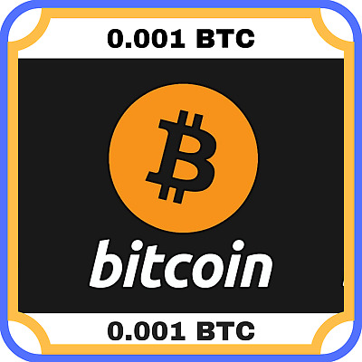 0.001 Bitcoin(BTC) MINING-CONTRACT (0.001 BTC), Crypto Currency