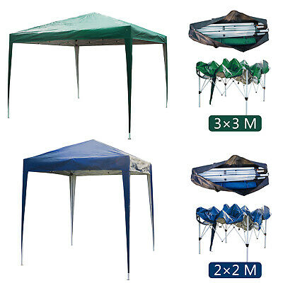Gazebo Pop-up Waterproof Marquee Canopy Garden Wedding Party Tent 2Mx2M/3Mx3M