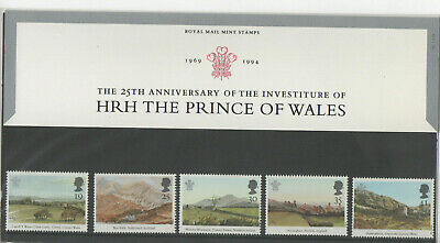 1994 Anniversary Investiture HRH Prince of Wales Presentation Pack