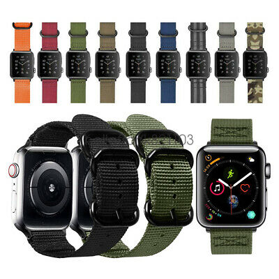 Nylon Armband Band Für Apple Watch Strap Series 4/3/2/1 40/44mm 38/42mm