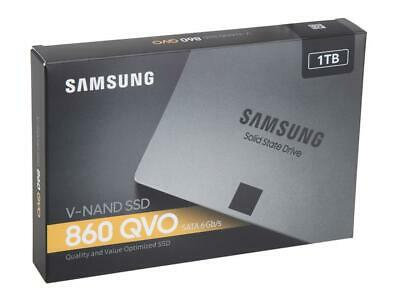 "NEW Samsung 860 QVO 1TB SATA III 2.5"" Internal Solid State Drive MZ-76Q1T0B/AM"
