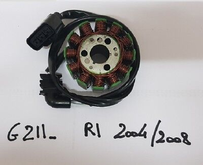 Yamaha Yzf 1000 R1 2004 2005 2006 2007 2008 Alternateur Stator