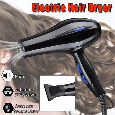 4000W Professional Hair Dryer Hot Cold Wind Ionic Blow Heating Large Power Salon