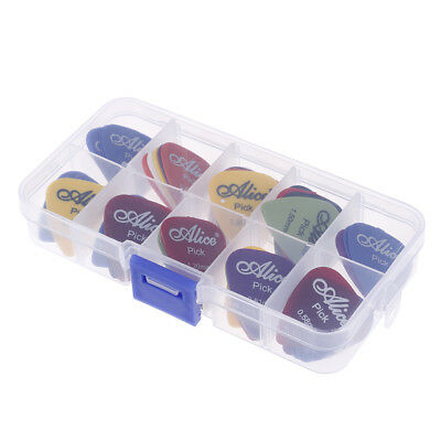 50 Guitar Picks Acoustic Electric Bass Pic Plectrum Mediator Musical Instrume nw