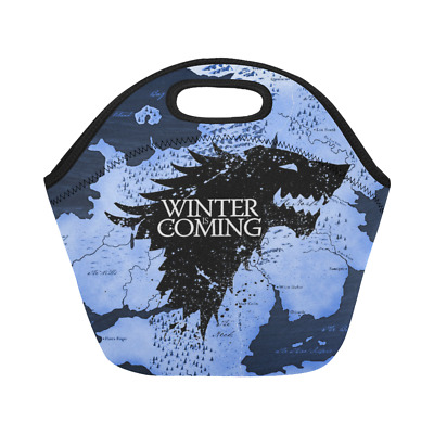 New Deaign Custom Game of Thrones Insulated Lunch Container Picnic Box Lunch Bag