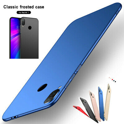 For Xiaomi Redmi 7 Note 7 6 5 Pro Ultra Slim Shockproof Matte Hard PC Case Cover