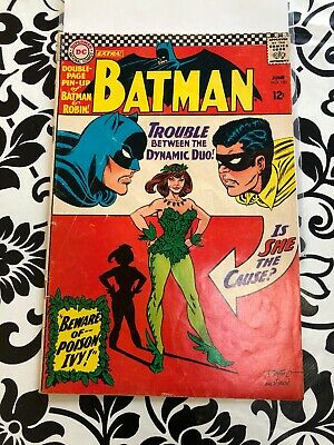 DC Comics Batman # 181 June 1966 1st Poison Ivy Includes Pin-Up B & Robin Poster