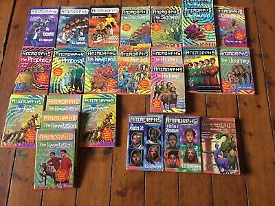 ANIMORPHS Books - almost the full collection!