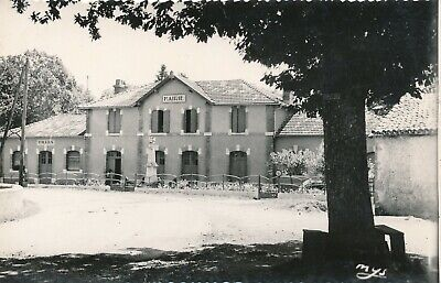CPSM - France - (32) Gers - Tillac - Groupe scolaire - Mairie