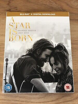 A Star is Born  [2018] (Blu-ray) & Digital Download, Bradley Cooper, Lady Gaga